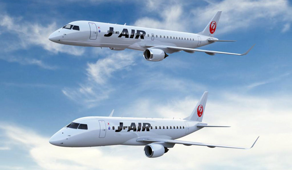 J-Air Embraer 170 and Embraer 190