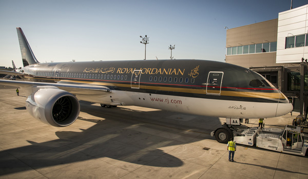 Royal Jordanian Boeing 787-8