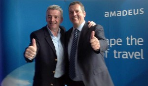 Ryanair partners with Amadeus for travel agency distribution from Nov 1 2014