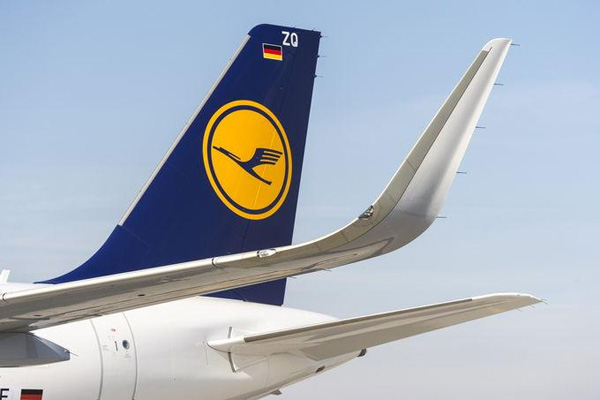 Lufthansa tail (© Airbus)