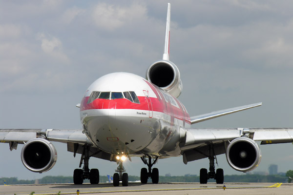 Martinair MD-11F at Amsterdam-Schiphol