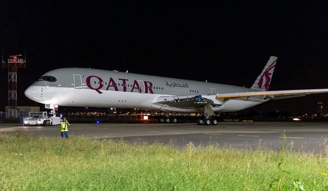 First Airbus A350 XWB for Qatar Airways