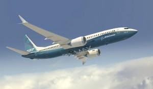 Artist rendering of Boeing 737 MAX 8
