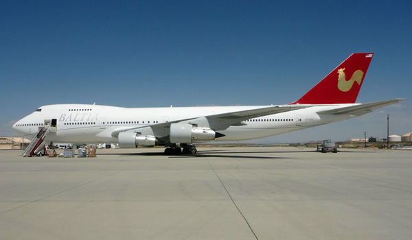 Baltia Airlines Boeing 747-200B (© Baltia Airlines)
