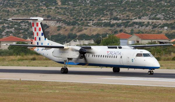 Croatia Airlines Bombardier Dash-8Q-400