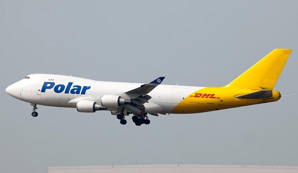 DHL Express/Polar Boeing 747-400F