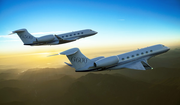 Gulfstream G500 and G600