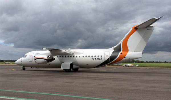 Jota Aviation BAe 146-200