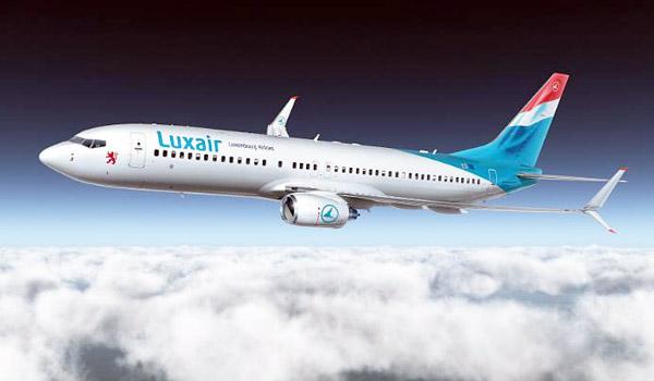 Luxair Boeing 737-800 with Split Scimitar Winglets