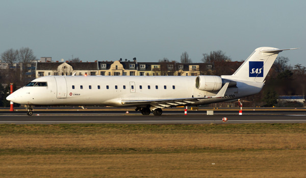 Cimber Air Bombardier CRJ200 operated for SAS Scandinavian