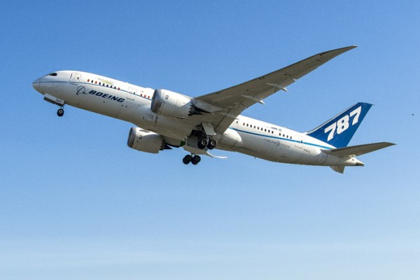 Boeing ecoDemonstrator 787 (© Boeing)