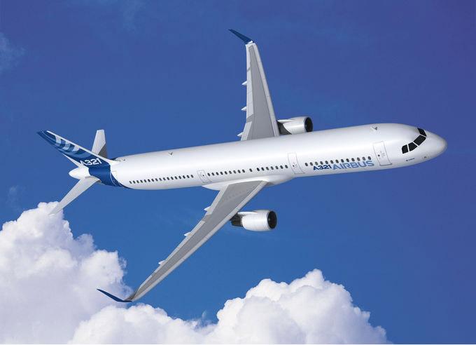 Самолет Аэрбас A321neo