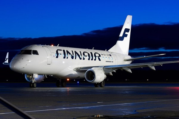 Finnair Embraer 170, operated by Flybe Nordic