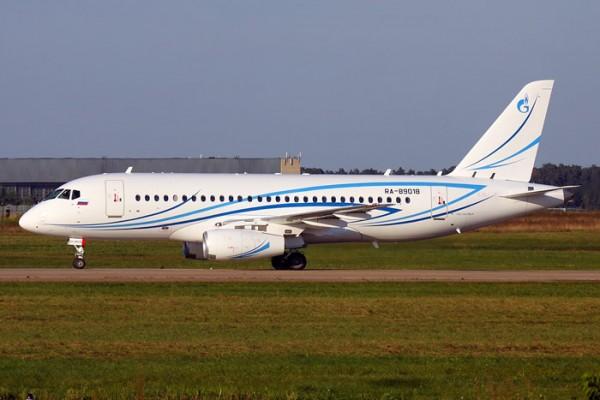 Gazpromavia Sukhoi SuperJet 100