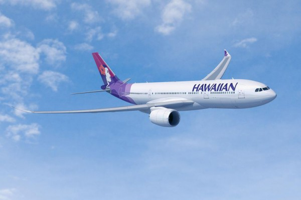 Artist impression of Hawaiian Airbus A330-800neo