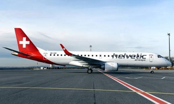 Helvetic Airways Embraer 190