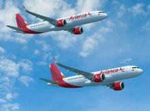 Avianca Airbus A320neo abd A321neo (© Airbus)