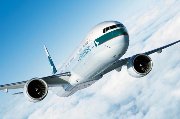 Cathay Pacific Boeing 777-300ER (© Cathay Pacific)