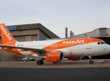New easyJet livery on an Airbus A320 (© easyJet)