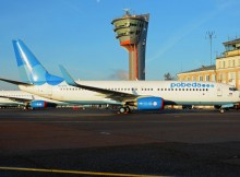 Pobeda Boeing 737-800 at Moscow Vnukovo Airport
