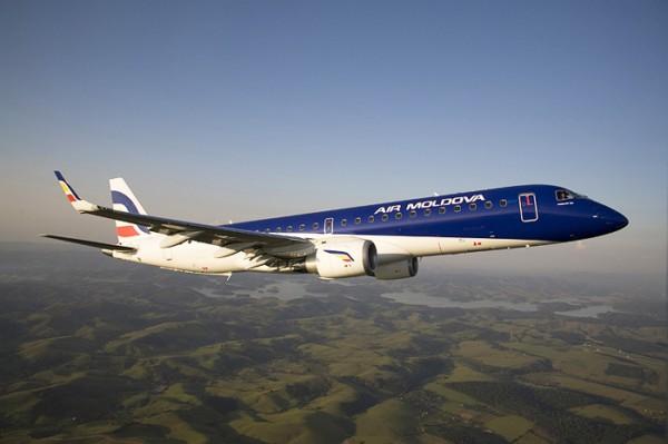 Air Moldova Embraer 190 (© Air Moldova)