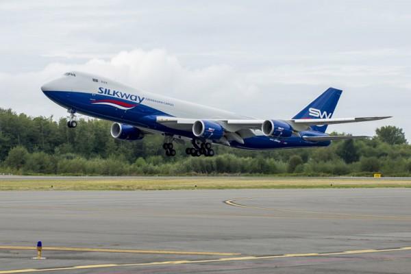 Silk Way Boeing 747-8F (© Boeing)