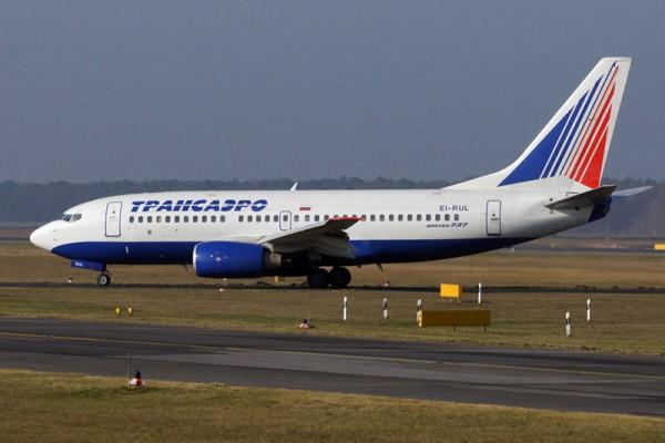 Transaero Boeing 737-700 (© O. Pritzkow)