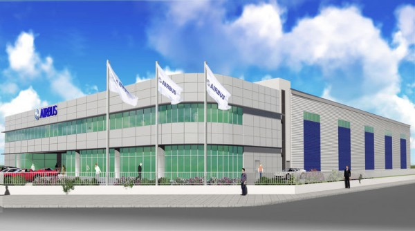 The new Airbus Asia Training Centre (AATC) in Singapore (© Airbus)