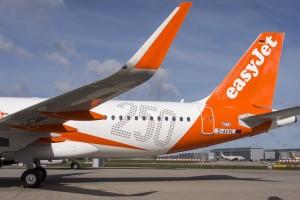 250th airbus aircraft for easyJet (© C.Brinkmann/Airbus)