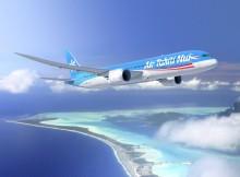 Boeing 787-9 Dreamliner in the livery of Air Tahiti Nui (© Boeing)