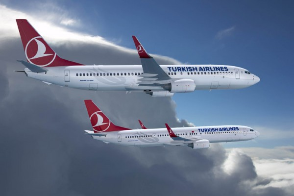 Turkish Airlines 737-800 and 737-900ER Artwork (© Boeing)
