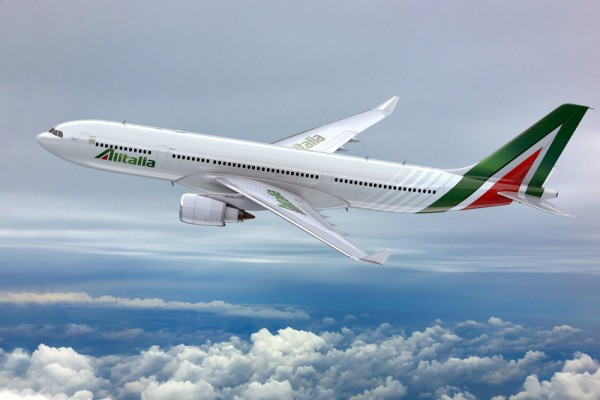 Artist impression of the new Alitalia livery