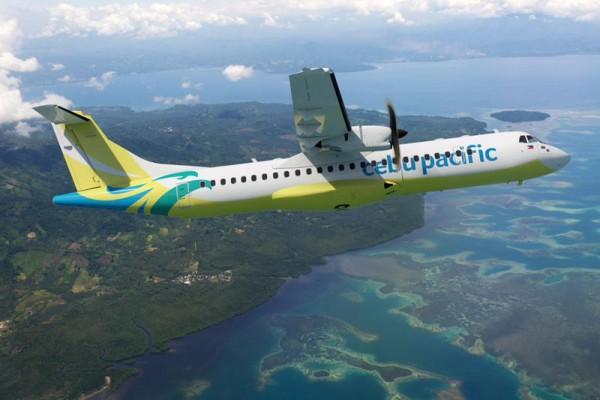 ATR72-600 in the livery of Cebu Pacific (© ATR)