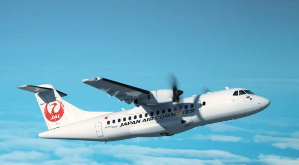 ATR42-600 in the livery of Japan Air Commuter (© ATR)