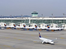 Satellite facility for Terminal 2 at Munich Airport (© FMG, W. Hennies)