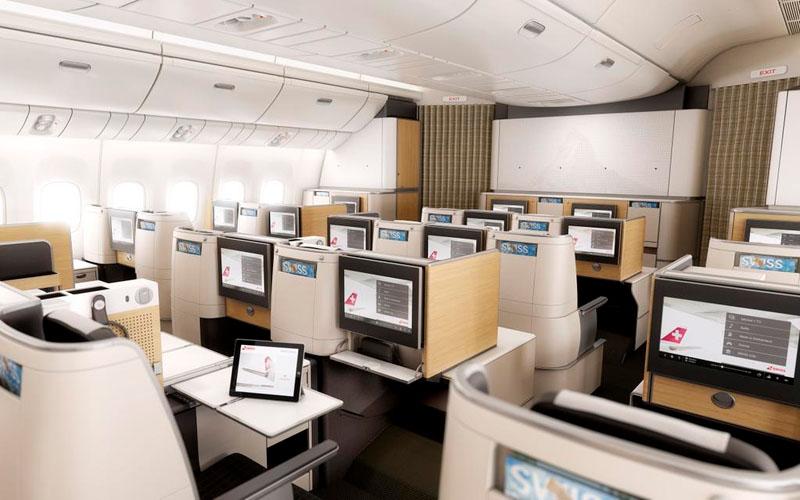 Swiss 777 300ER Business Class (© Swiss)