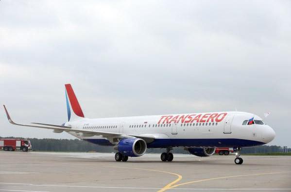 Transaero Airbus A321 (© Transaero)