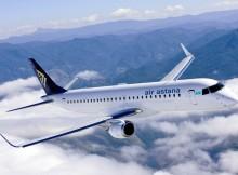 Air Astana Embraer 190 (© Air Astana)