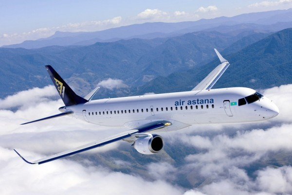 Air Astana Embraer 190 (© Air Astana)