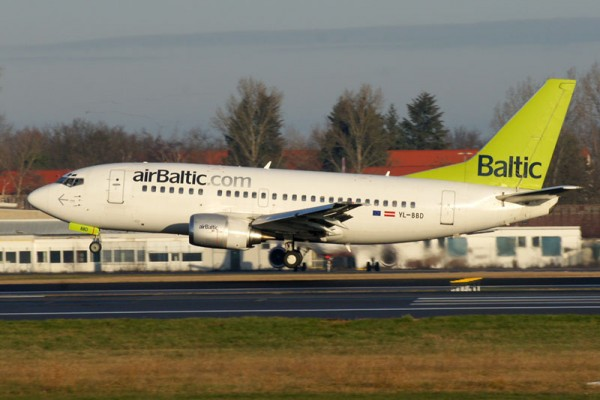 airBaltic Boeing 737-500 (© O. Pritzkow)