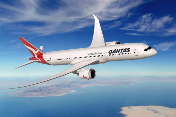 Qantas Boeing 787 Dreamliner (© Boeing)