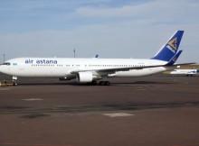 Air Astana Boeing 767-300ER (© O. Pritzkow)