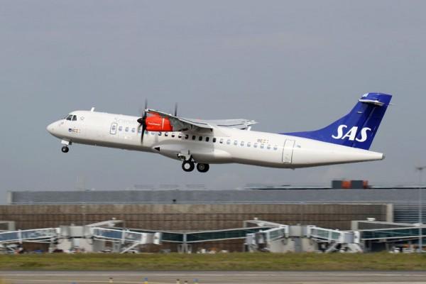 ATR72-600 im Look der SAS (© ATR)