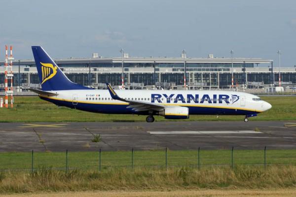 Boeing 737-800 der Ryanair (© O. Pritzkow)