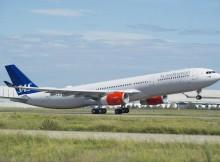 Airbus A330-300 der SAS Scandinavian Airlines (© Airbus)