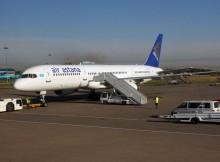 Air Astana Boeing 757-200 (© O. Pritzkow)