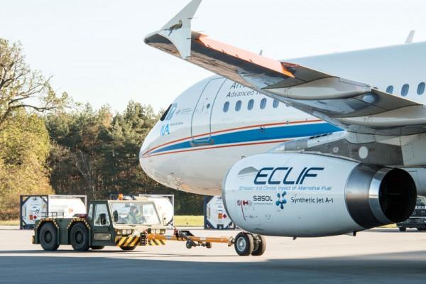 Forschungsflugzeug A320 ATRA (© DLR)