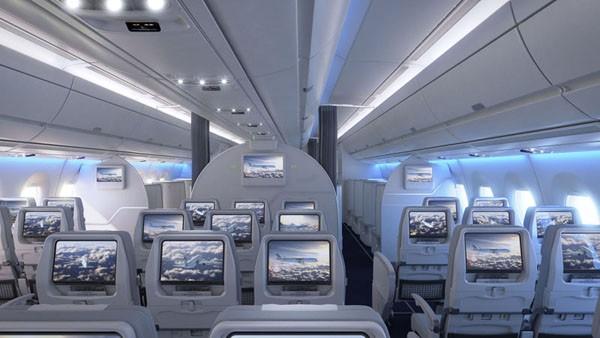 Finnair A350 Economy Class (© Finnair)
