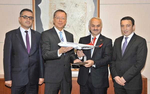 (v.r.n.l.): Ramazan Bingül, Dr. Temil Kotil, Prof. Gerd Stöwer, Fatih Cigal (© FMO)