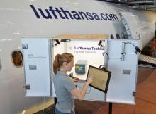 gate.control im Einsatz (© Lufthansa Technik)